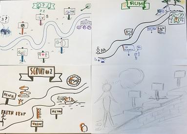 Exemple de langage visuel - I.Quesnel