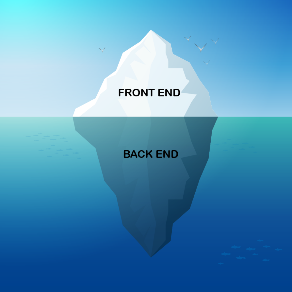 front end - iceberg - ORSYS