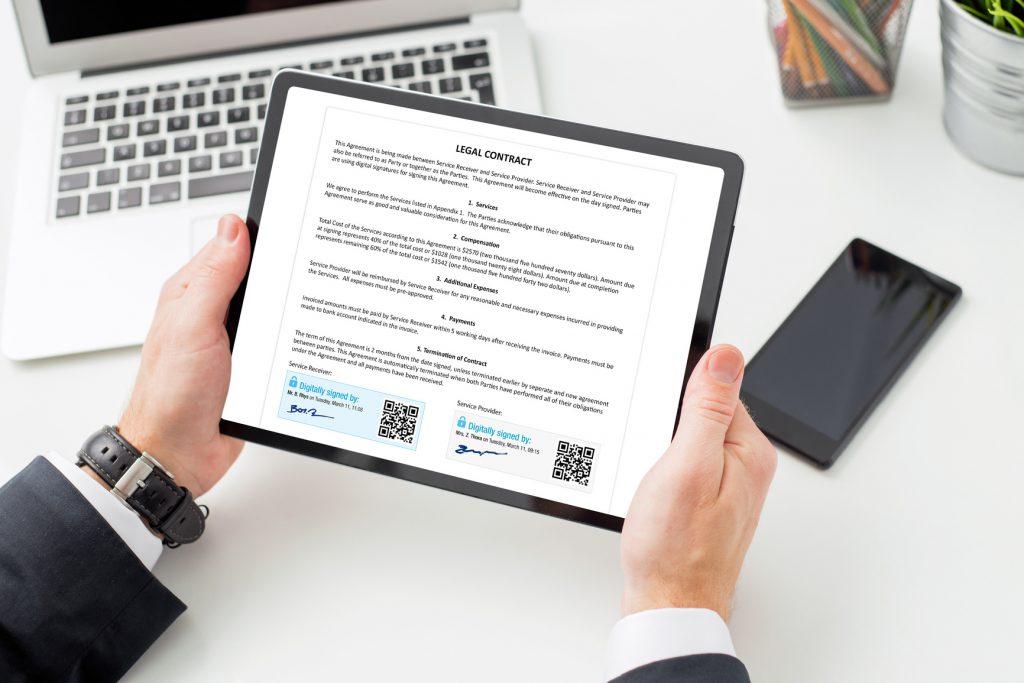 Signature électronique : les 7 avantages - ORSYS