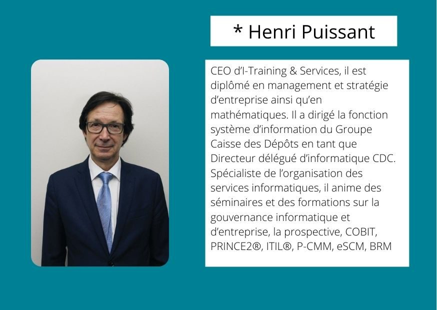 Henri Puissant formateur ORSYS Formation expert