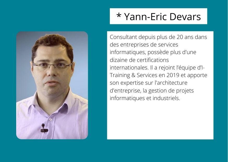 Yann Eric Devars Fomrateur ORSYS Formation